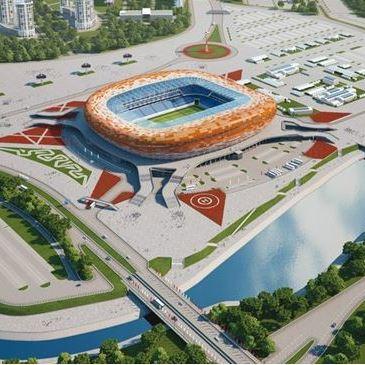 Mordovia Arena - stadions WK 2018