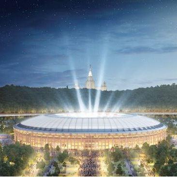 Olympisch stadion Loezjniki - stadions WK 2018