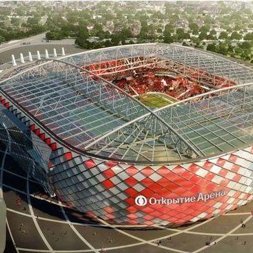 Otkrytieje Arena - stadions WK 2018