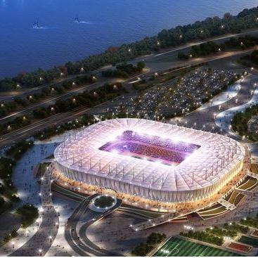 Rostov Arena - stadions WK 2018