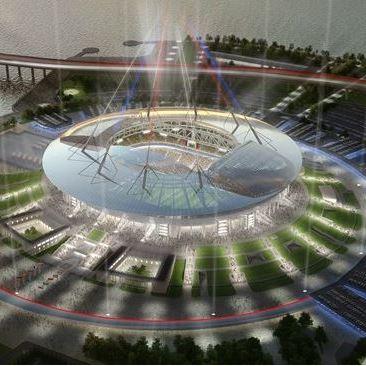 Nieuwe Zenitstadion (Sint-Petersburg stadion) - stadions WK 2018